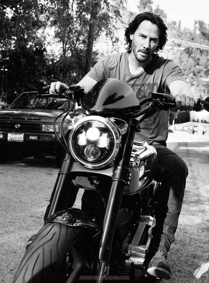 Keanu Reeves para Esquire UK Marzo por Simon Emmett