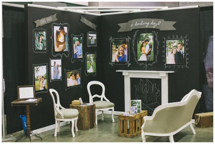 Bridal Show Booth Ideas For Venues : Boda Ideas Expo Bridal Show Booth  Design Photography