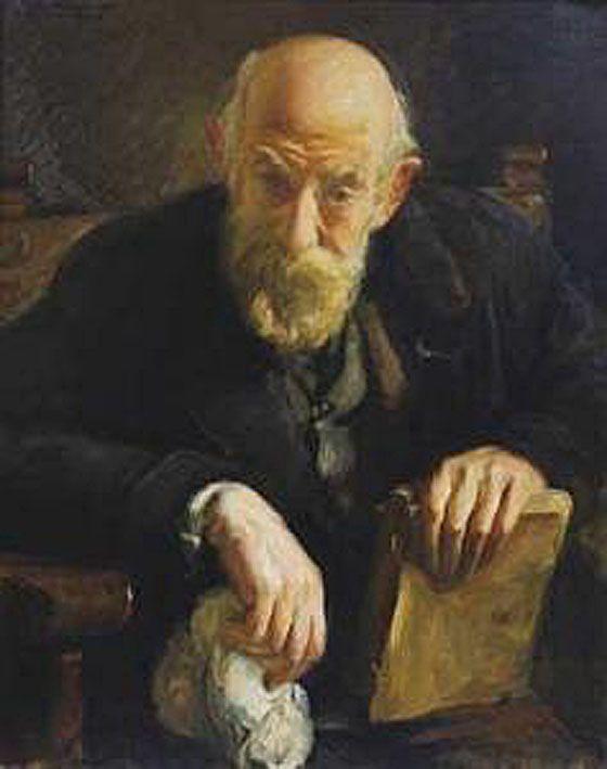 Retrato de Anciano- Victor Moya Calvo