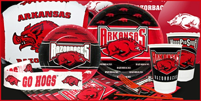 Arkansas Razorbacks Party Supplies - Party City Canada