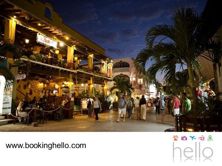 EL MEJOR ALL INCLUSIVE AL CARIBE. La Quinta Avenida en Playa del Carmen es uno de los mejores lugares del Caribe mexicano, para pasar un día relajante con tus amigos disfrutando de la gastronomía de la zona, haciendo compras o simplemente, gozando de la tranquilidad de la playa. En Booking Hello les invitamos a adquirir alguno de nuestros packs all inclusive, para conocer todos los atractivos de este fabuloso destino. #BeHello