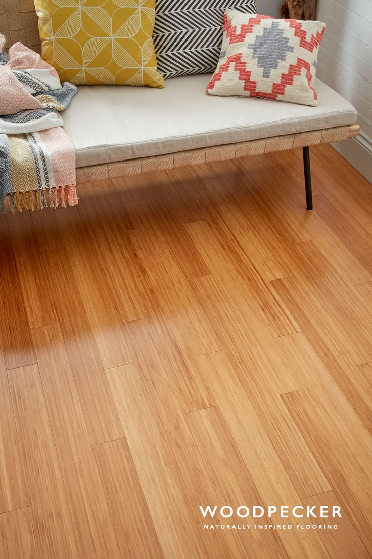 Make your home your most exotic destination yet with this coffee shade of bamboo flooring. Get a free sample at our website.