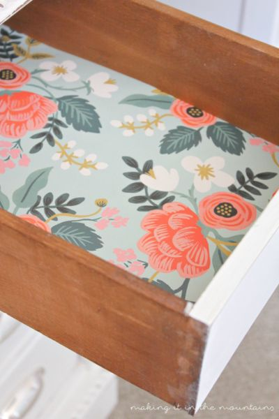 Drawer liner: Every piece has a story to tell and this is one you're not going to want to miss!