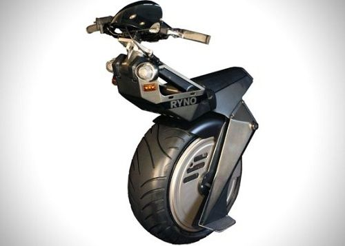 One-Wheeled Motorcycle Lets You Ride In Style - DesignTAXI.com: Motorcycles, One Wheels, Bike, Stuff, Electric Scooters, Electric Unicycl, Wheels Electric, Vehicles, Ryno Cars