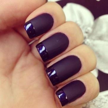alternative french manicure