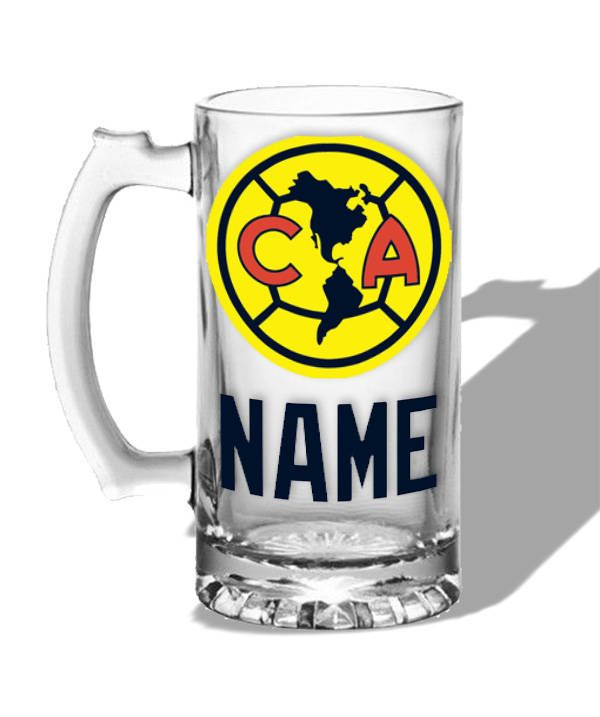 Personalized beer mug Aguilas del America, Gift by DecalzNmore on Etsy