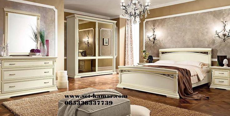 Set Tempat Tidur Mewah | Kamar Tidur Utama Mewah - Set Kamar | Furniture Kamar | Kamar Tidur Anak Minimalis | Tempat Tidur Tingkat