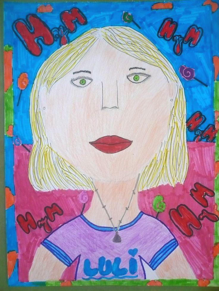 """Retrato de Luli"". Bárbara R."