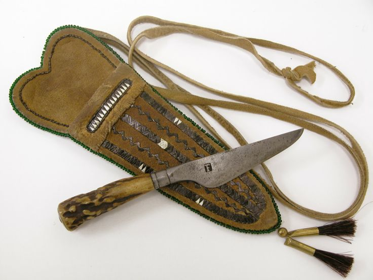 Contemporary Makers: Knife in Quillwork Sheath