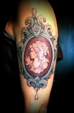 cameo tattoo designs for women | Cameo Tattoos