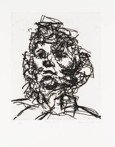 Working drawing for `Primrose Hill - Frank Auerbach - WikiPaintings.org
