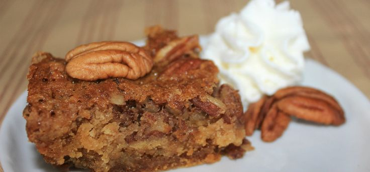 If you love pecan pie, you're going to be crazy over this cake!
