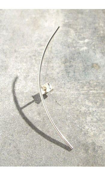 Sansoeurs boucle solo Arch argent 925-------#sansoeurs #boucle #earring #argent #silver