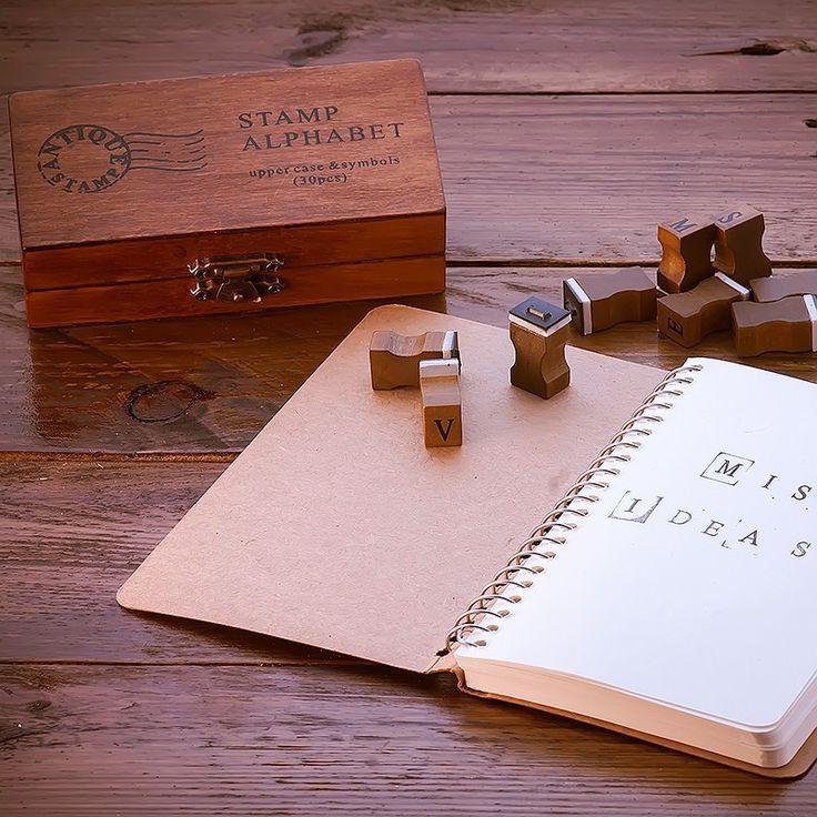 Caja de sellos Alfabeto - CreativeBox