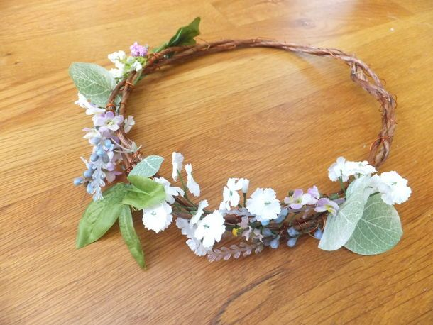 Head piece for Woodland Fairy costume/mother nature costume