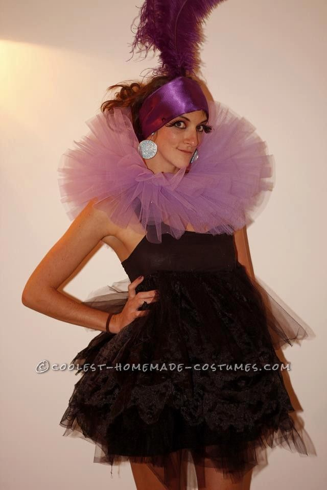 homemade yzma costume from the emperors new groove