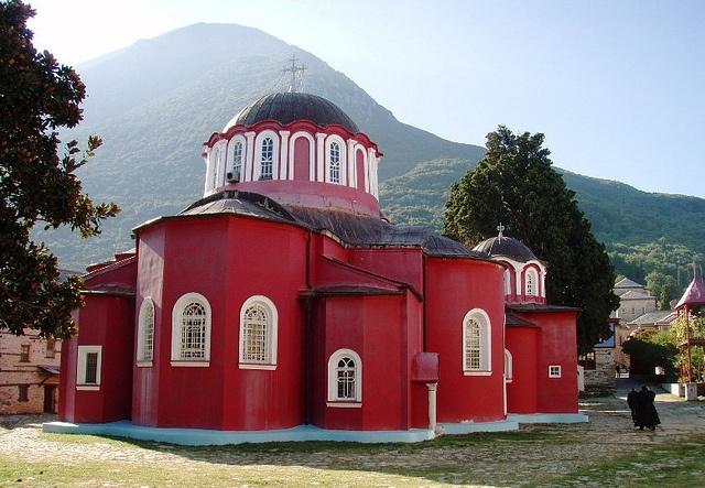 Holy Mountain (AGIO OROS ) Monastery of Saint Lavra.