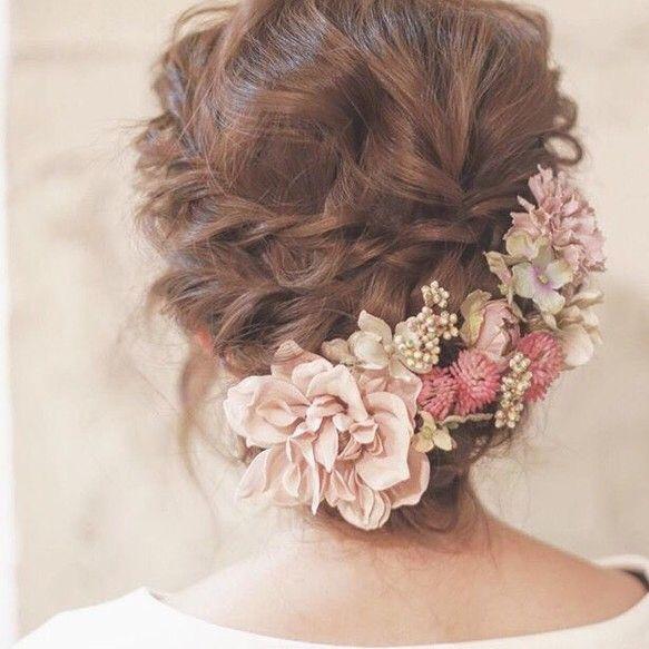 antique pink * ヘッドドレス