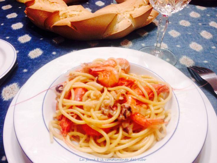 Spaghetti allo scoglio #blogGZ #food #fish