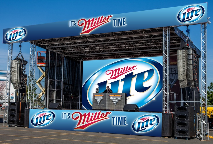MILLER LITE Mock Up