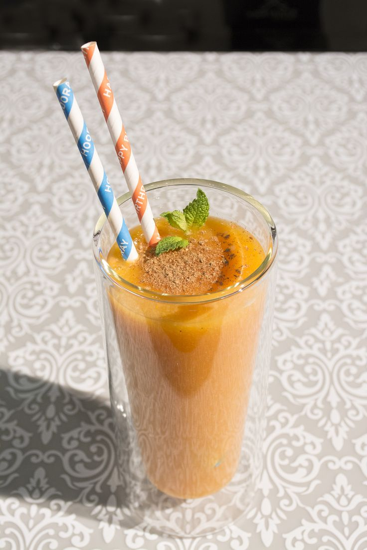 Jugo #antioxidante de mango