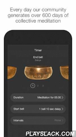 Insight Timer Meditation Timer  Android App - playslack.com ,  More than half a million meditators call Insight home.With beautiful Tibetan singing bowls and a dynamic worldwide community, Insight is the fun and connected way to support your meditation practice.If you're new to meditation, you'll find introductory guided mediations and a supportive community to help you get started. And if you're an experienced meditator, you'll feel right at home with our beautiful Tibetan singing bowls and…