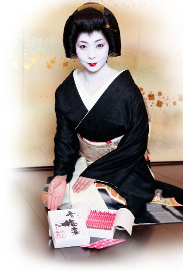 Umeka-san of Kamishichiken is a real star in her district. A Geiko with outstanding Talent and understanding of the arts.