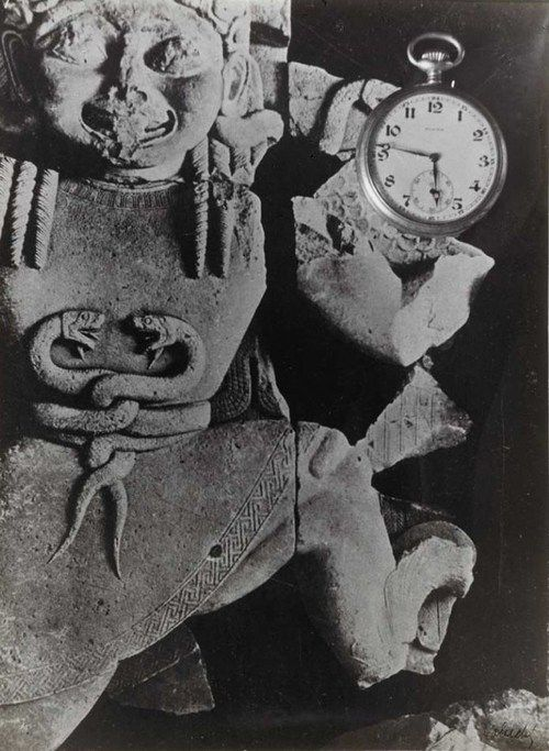 Frantisek Vobecky - Caduceus and Clock, 1935
