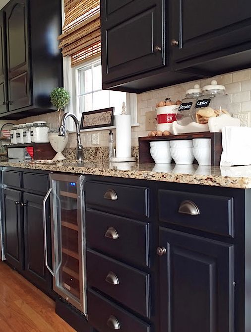 This homeowner's 25 year old kitchen makeover will show you it's NEVER too late to take the plunge!