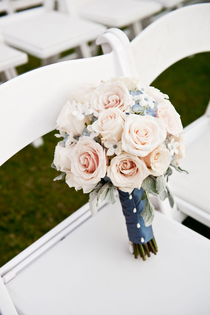 Slate blue wedding decor   best wedding images on Pinterest  Wedding bouquets Bridal