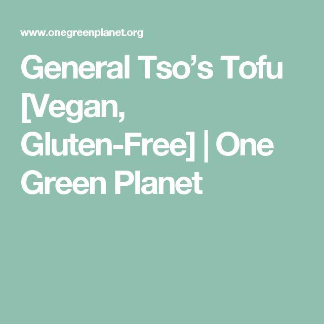 General Tso's Tofu [Vegan, Gluten-Free] | One Green Planet