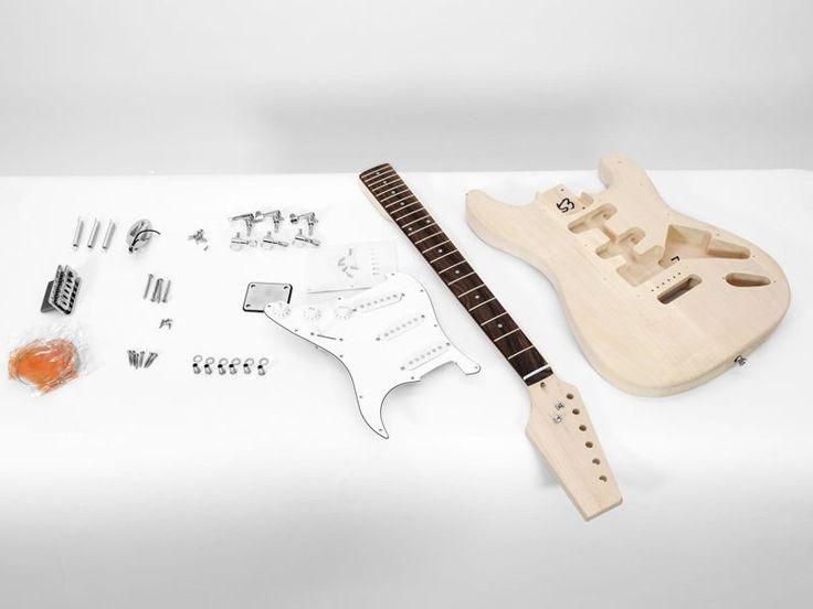 Gitara do samodziel. montażu DIY ST-10 Dimavery   Instrumenty muzyczne \ Gitary \ Elektryczne PREZENTY \ Dla Dziecka   Sprzet-Dyskotekowy.pl - największy i najtańszy sklep internetowy z oświetleniem i nagłośnieniem w Polsce