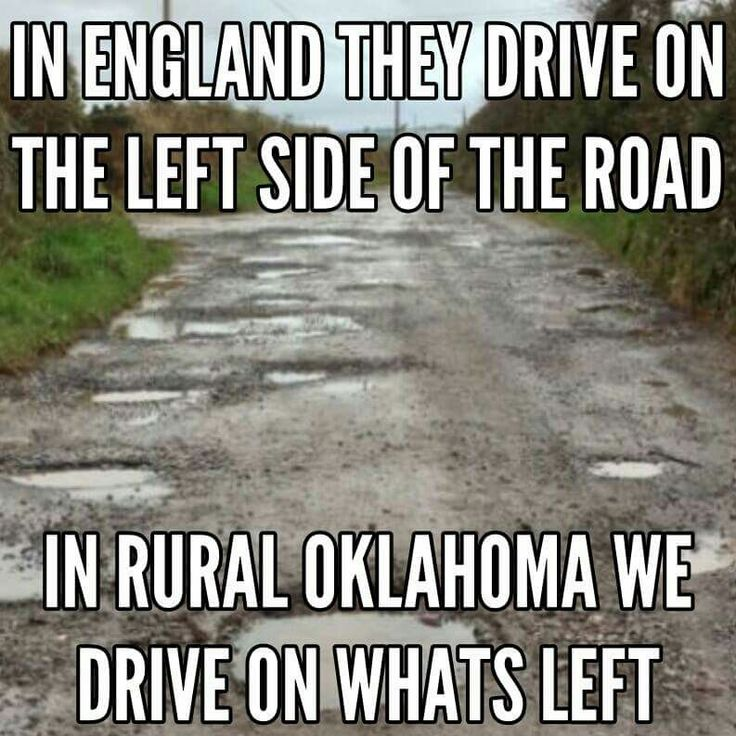 Hahahaha!!!  Some of the rural roads are so narrow are here!