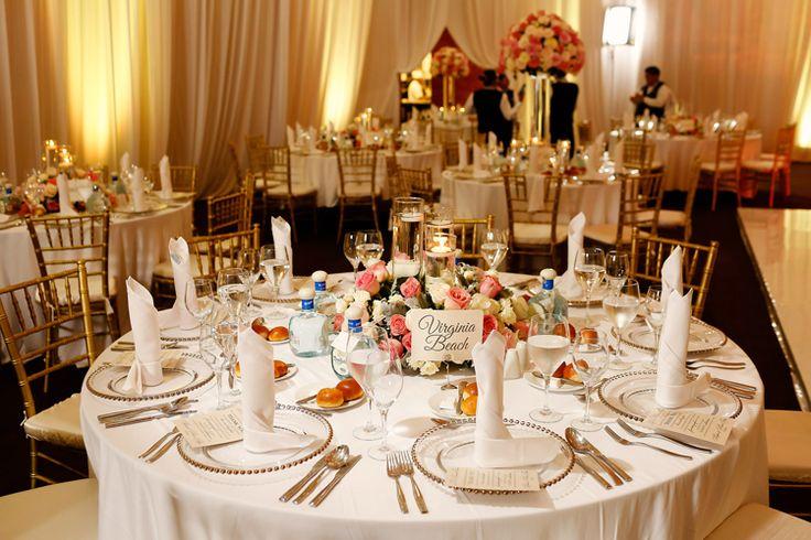 Destination Wedding at Barcelo Maya Palace | Mexico wedding venues elegant indoor ballroom (FineArt Studio Photography)