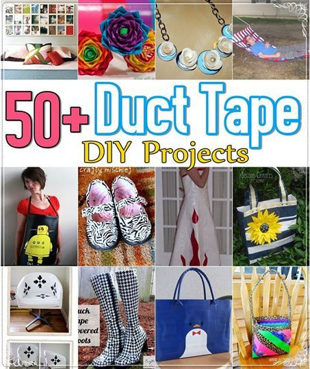 phoenix treasures - Over 50 Duct Tape DIY Projects