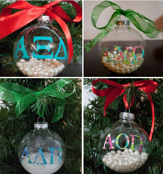 DECK THE HALLS In Sorority Sparkle... And Trim Your Tree