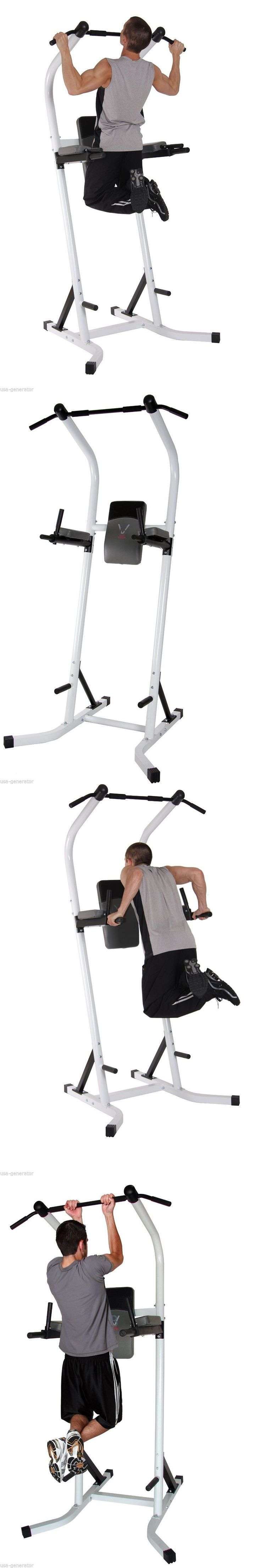Pull Up Bars 179816: Power Tower Vkr Push Pull Chin Up And Dip Station Raise Home Gym 250Lb Max New -> BUY IT NOW ONLY: $195.34 on eBay!