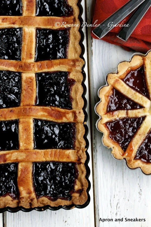 Apron and Sneakers - Cooking & Traveling in Italy and Beyond: Cherry Jam Tart (Crostata di Ciliegie)