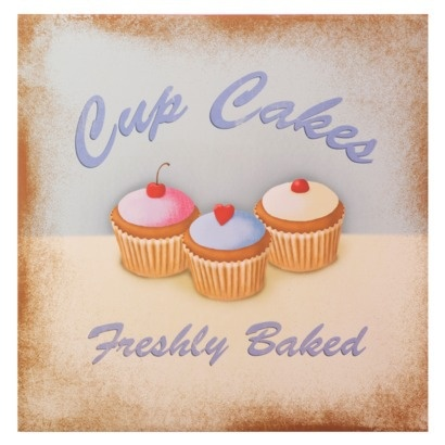 Cupcake Art Vintage : 17 Best images about Retro Cupcake Art on Pinterest ...