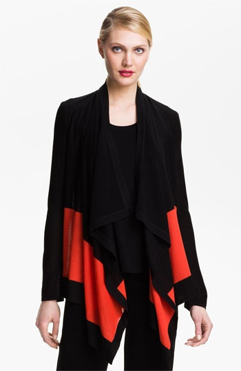Exclusively Misook Colorblock Open Cardigan available at #Nordstrom