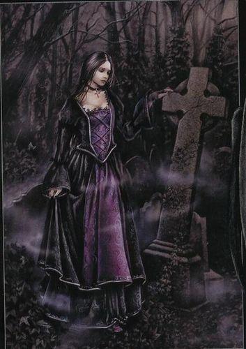 Die besten 25 feen zeichnungen ideen auf pinterest wie - Gothic adventskalender ...