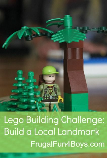 Lego Fun Friday:  Build a Landmark Building Challenge