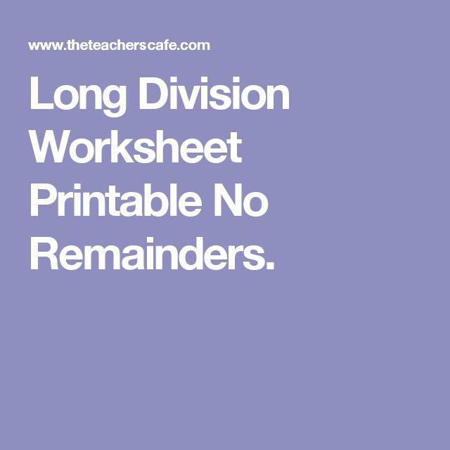 Laboratory Equipment Worksheet Get  Remainders Ideas On Pinterest Without Signing Up  Long  Area Perimeter Worksheet Excel with Middle School Math Word Problems Worksheets Pdf Long Division Worksheet Printable No Remainders Least Common Factor Worksheet