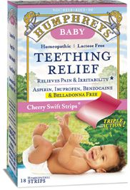 Easy to use baby teething relief