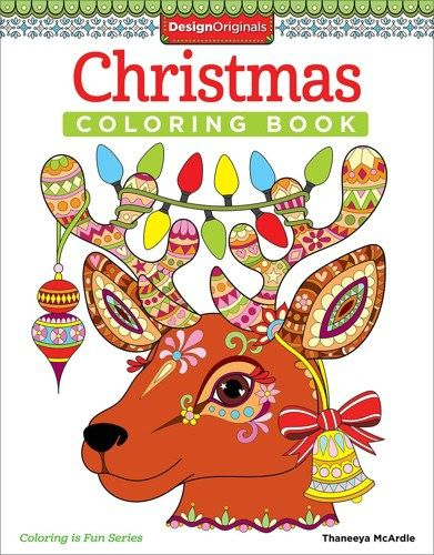 22 Christmas Coloring Books To Set The Holiday Mood Design Originals