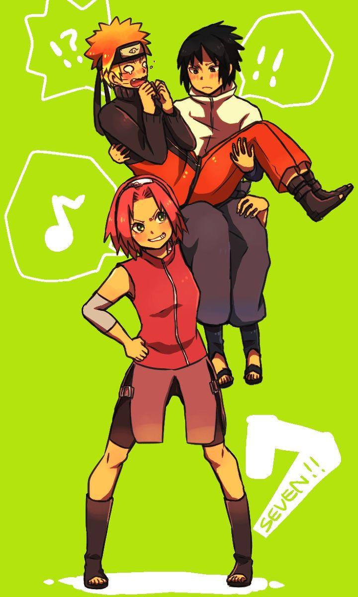 25 beautiful naruto team 7 ideas on pinterest anime naruto team 7 and konoha naruto - Naruto and sasuki ...