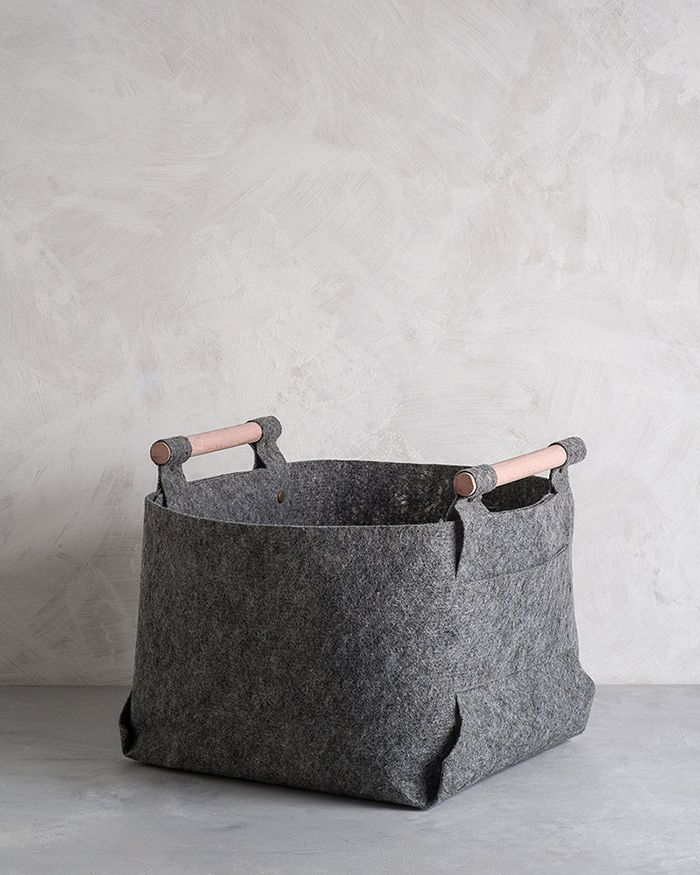 April and May: grey storage bins