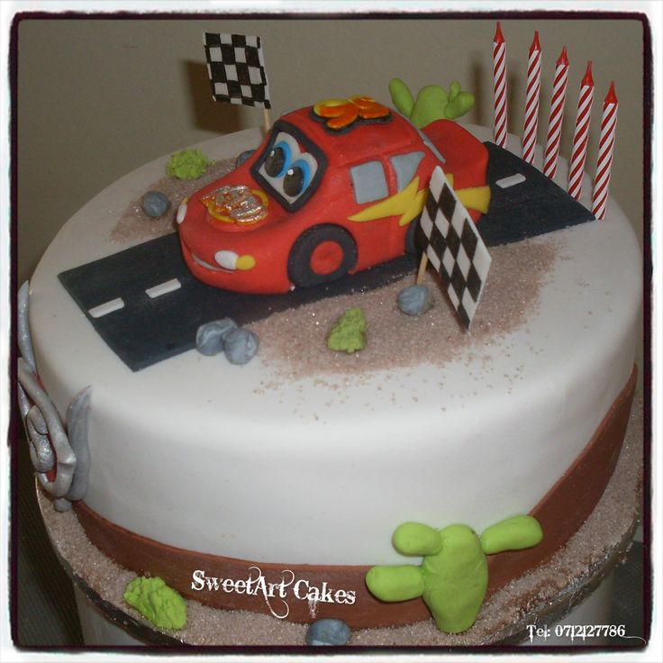 DISNEY CARS CAKE For more information & orders, email SweetArtBfn@gmail.com or call 0712127786.  Connect with me on Facebook at www.facebook.com/SweetArtCakesBfn