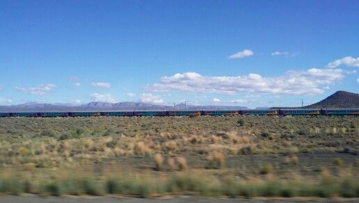 Train at Beaufort West