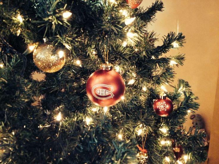 Une boule de Noël des Canadiens. / #Habs Christmas ornament (Soumis par / Submitted by Jenn Wukovits - Facebook)